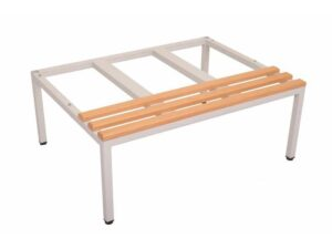 Locker-Mod Wood Seat & Stand