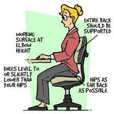 Look after your Back at work !!