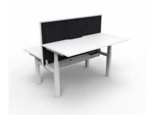 Paramount Height Adj Desk / Screen 1500,