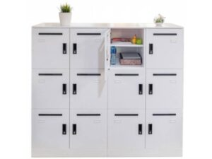 Office Lockers 6 x compartments