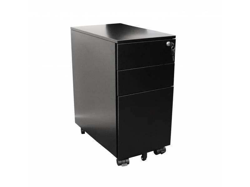 Go Slimline Mobile Pedestal 3 Drawer