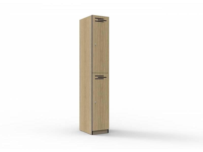 Locker -Two Door Melamine 305mm